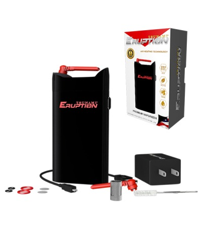 Black Eruption 3-In-1 Vaporizer